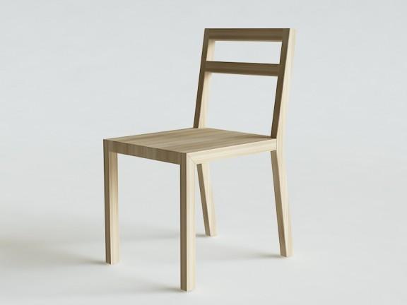 MINIMA 2  krzesło dębowe