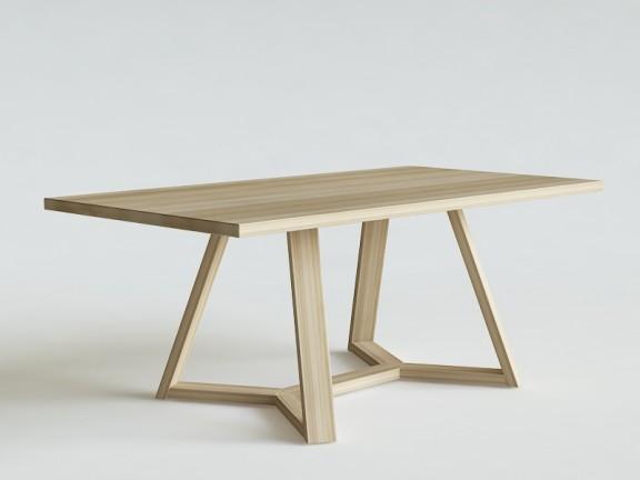 FLOW KANT stół dębowy, różne wymiary
