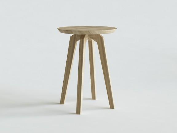 IDO stolik okrągły dębowy wymiary
