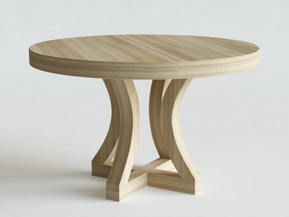 LUKA stół okrągły rozkładany, wymiary
