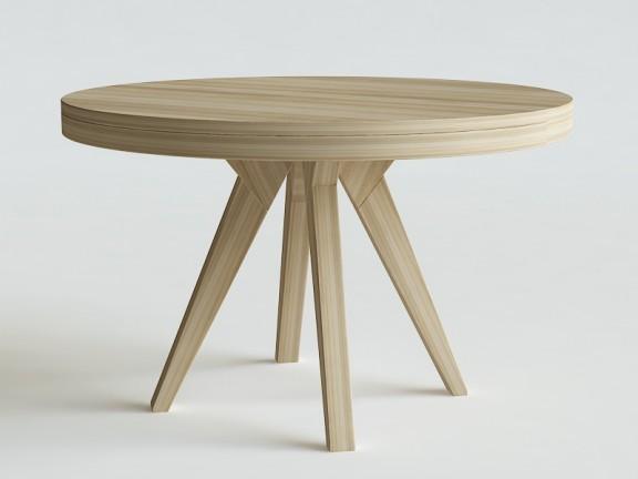 MAK stół okrągły rozkładany, wymiary