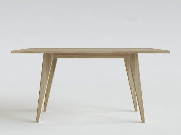 N.1 PRL stół dębowy, różne wymiary