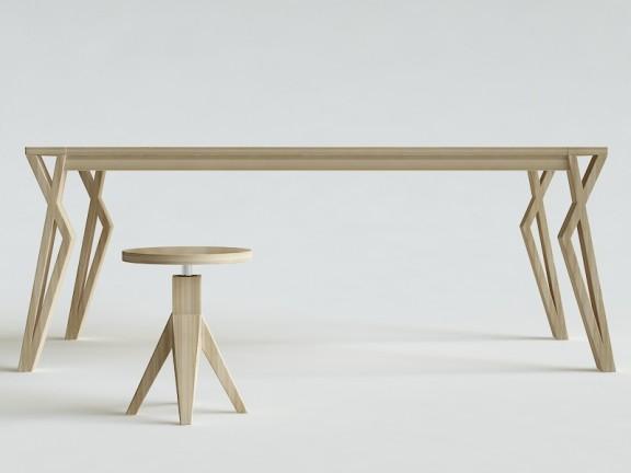 SPLOT KANT stół dębowy, różne wymiary
