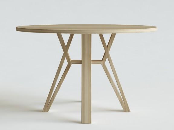 SPLOT stół okrągły dębowy, wymiary
