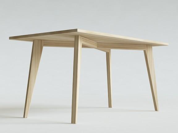 N.2 PRL stół dębowy, różne wymiary