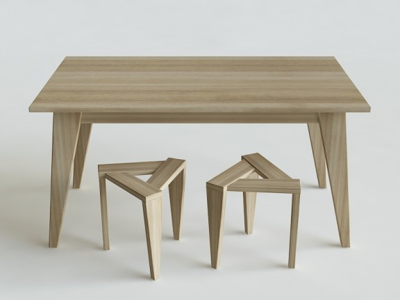 ETERNAL 02 rozkładany stół dębowy, wymiary