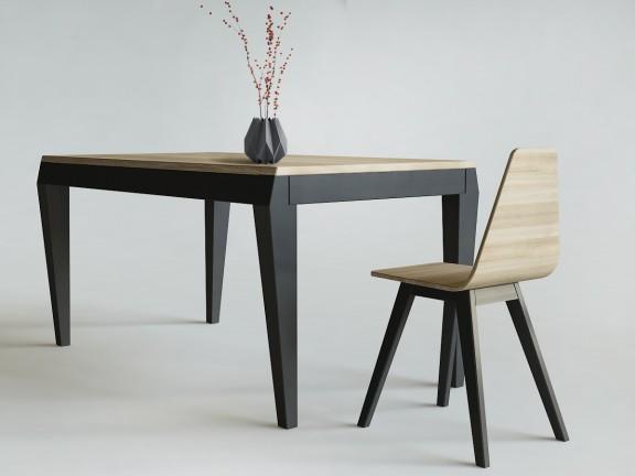 ETERNAL 04 rozkładany stół dębowy, wymiary