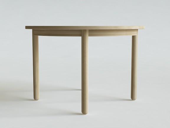 CAPS stół okrągły dębowy, wymiary