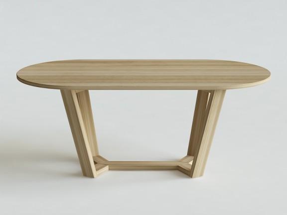 ELM OWAL stół dębowy, różne wymiary
