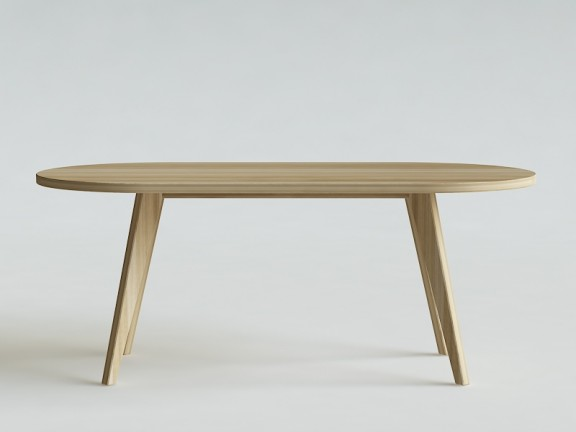 PRL OWAL stół dębowy, różne wymiary