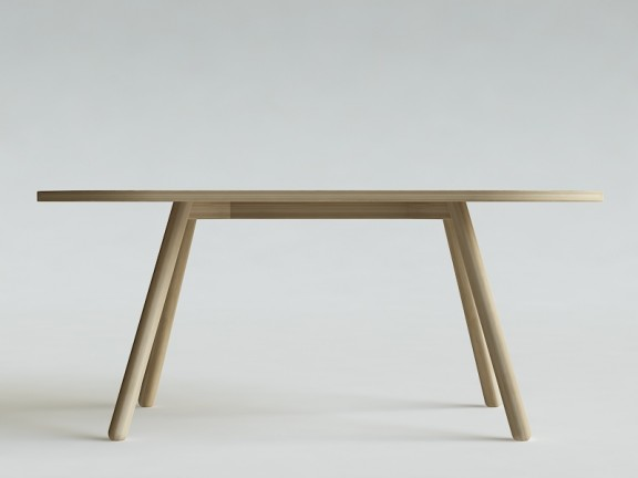 TWIG OWAL stół dębowy, różne wymiary