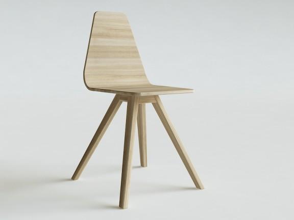 CANT krzesło dębowe kolory