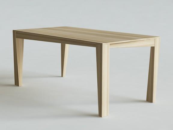 KLASYK 5 stół dębowy, z podciętymi nogami, różne wymiary