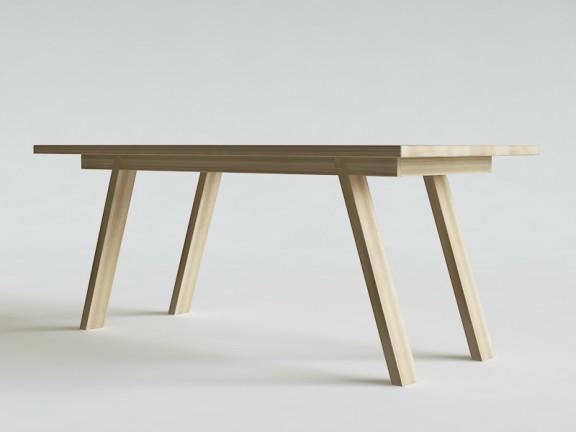 ETERNAL 07 rozkładany stół dębowy, wymiary