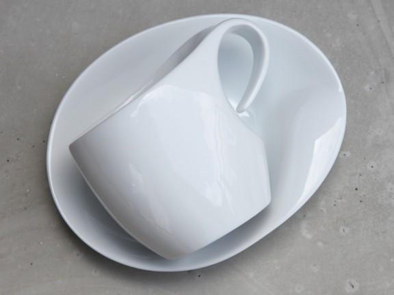 FILIŻANKA do cappuccino + spodek zestaw dla 4 osób