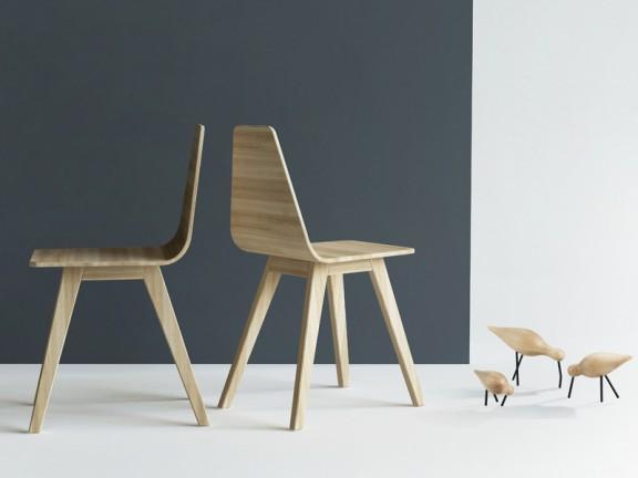 FORM krzesło dębowe kolory