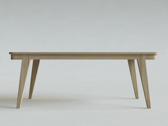 ETERNAL 06 rozkładany stół dębowy, wymiary