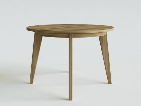 KLASYK 8 stół okrągły rozkładany, wymiary