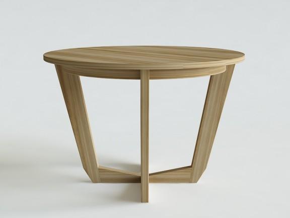 KLASYK 9 stół okrągły rozkładany, wymiary