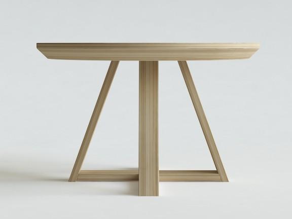 FLOW 2 stół okrągły rozkładany fi 130cm