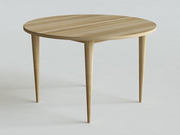 OVO 1 stół okrągły rozkładany, wymiary