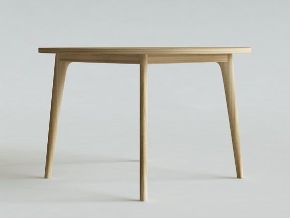 OVO 2 stół okrągły rozkładany, wymiary