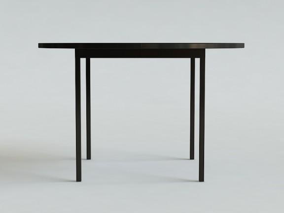 OVO 3 stół okrągły rozkładany, wymiary