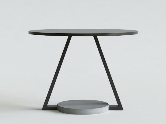 UFO stół okrągły dębowy, wymiary