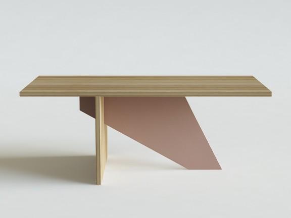GEOMETRIC stół dębowy, różne wymiary