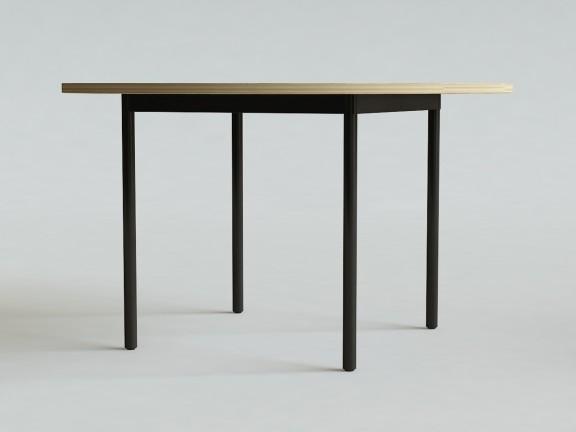 OVO 4 stół okrągły rozkładany, wymiary