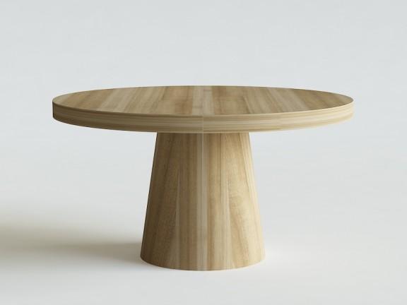 PASTELKA 02 rozkładany stół okrągły, różne wymiary