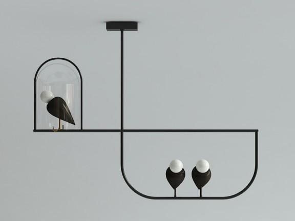 BIRDS 12 wisząca