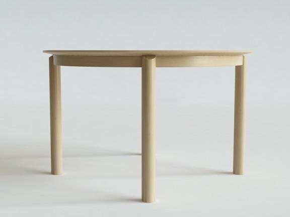 PLUMP stół okrągły rozkładany,  wymiary