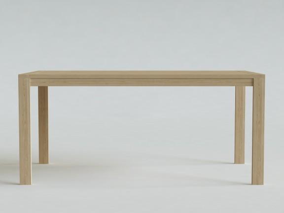 NUDE 01 rozkładany stół dębowy, wymiary